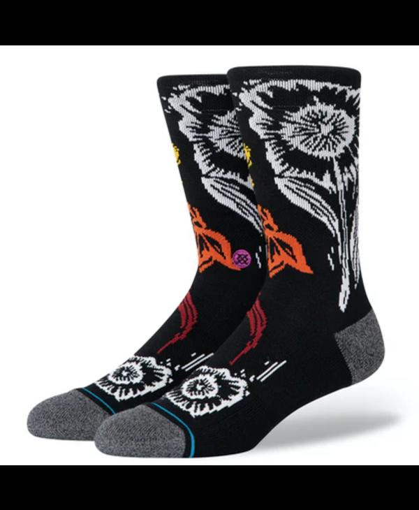 Helix Crew Infiknit Socks - Black
