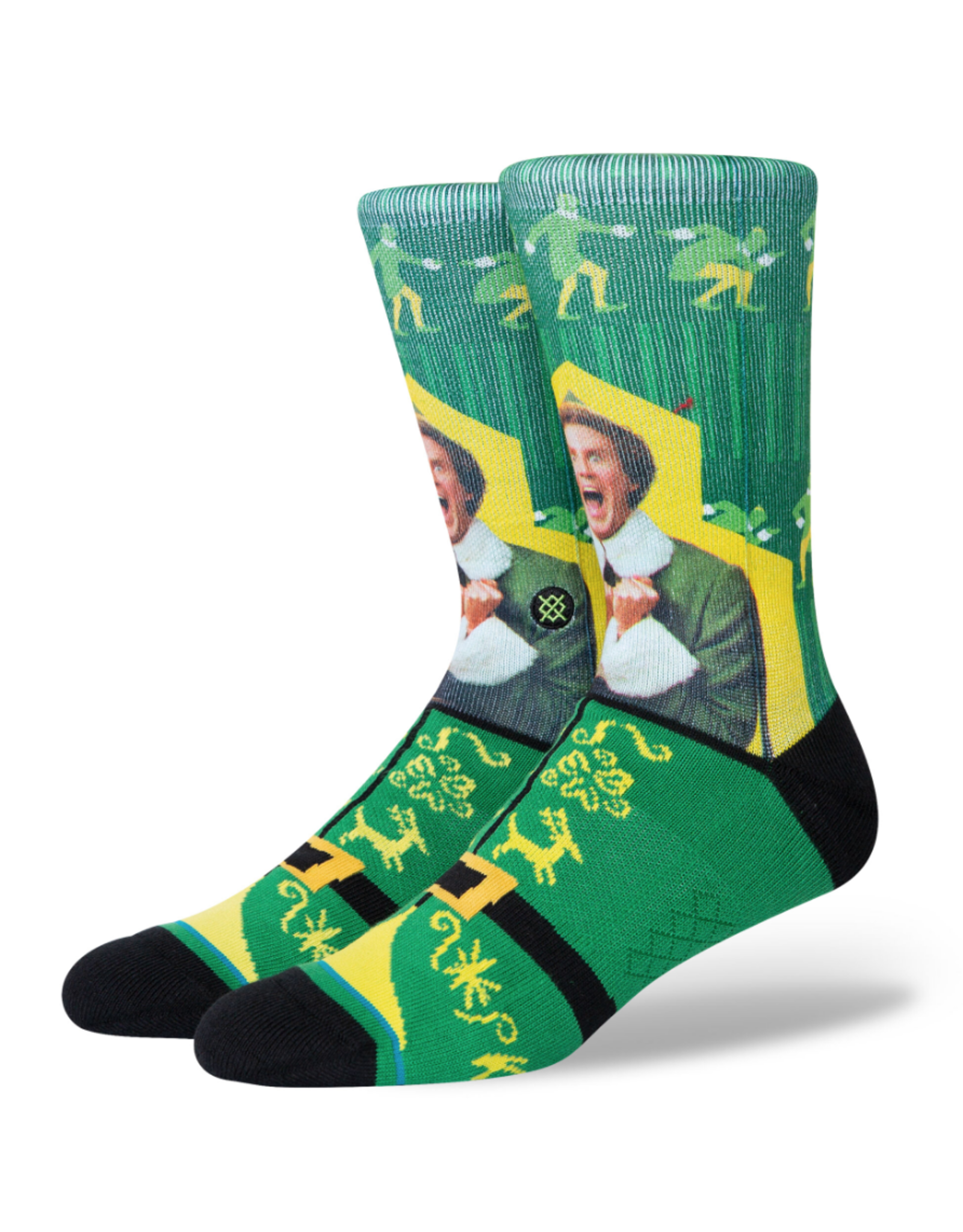 Stance Elf I Know Him Socks - Green