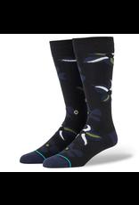 Stance Sonic Bloom Socks - Black