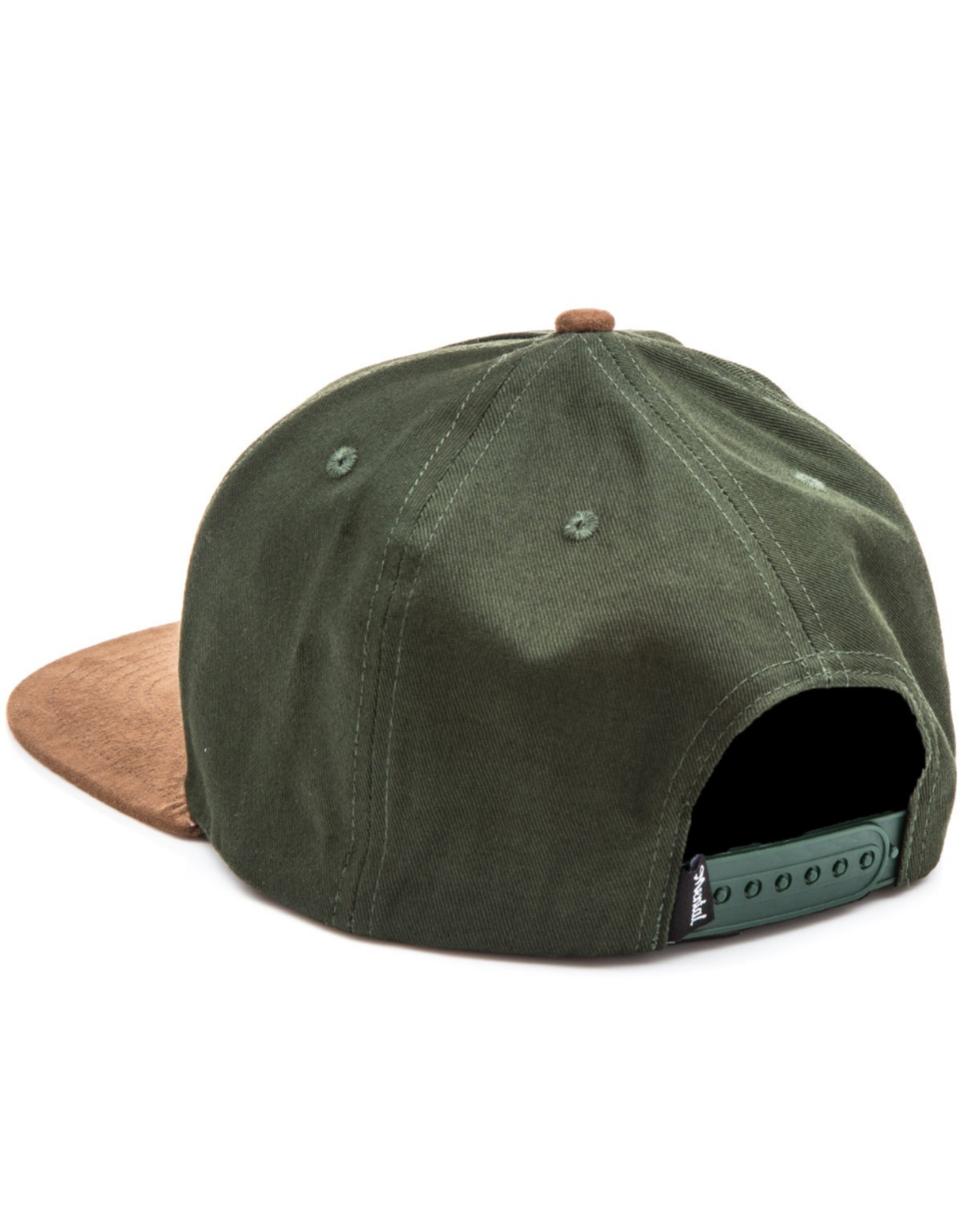 Skate Mental Don't Get Lost Snapback - Green/Brown