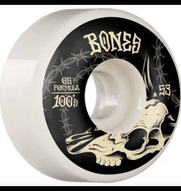 Bones Desert Skull 100's V4 Wides 100A - White