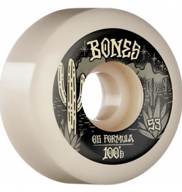 Bones Desert West 100's V5 Sidecuts 100A - White