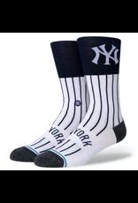 Stance MLB NY Color Infiknit Socks - White