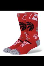 Stance NBA Raptors Landmark Infiknit Socks - Red