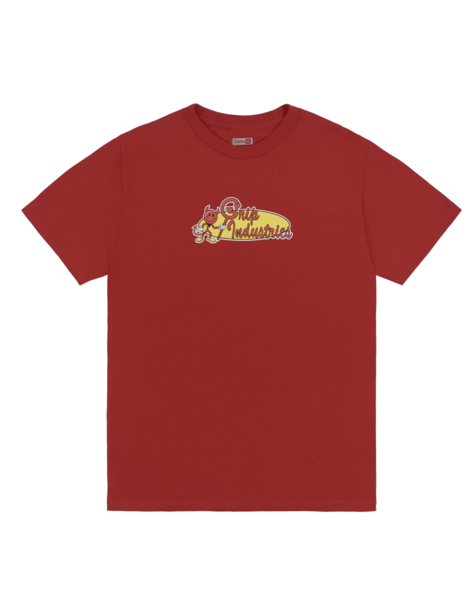 Classic Grip Industries T-Shirt - Red