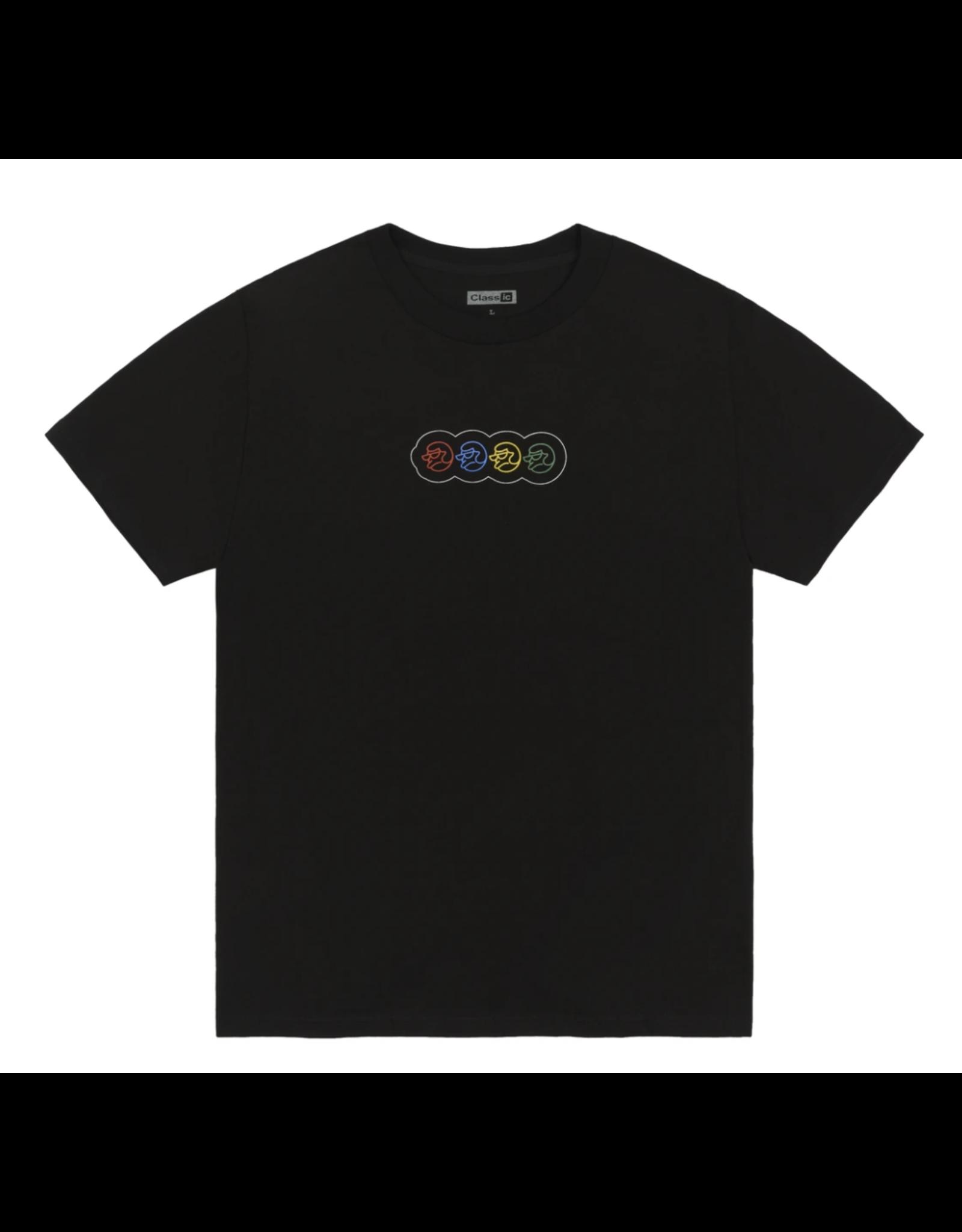 Classic Stroop Tease T-Shirt - Black