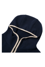 Dime Polar Fleece Hooded Jacket - Navy
