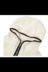 Dime Polar Fleece Hooded Jacket - Cream