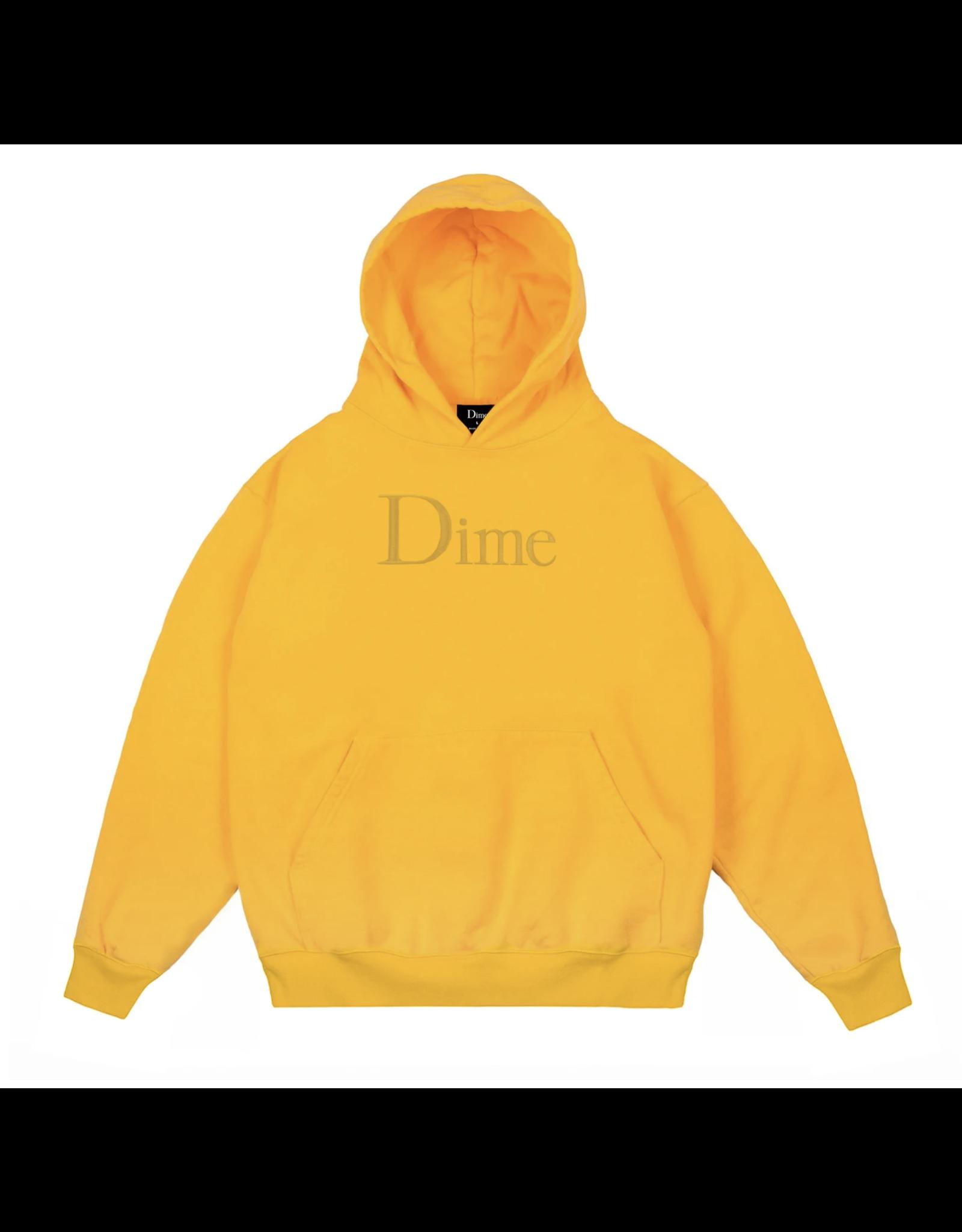 Dime Classic Hoodie - Yellow