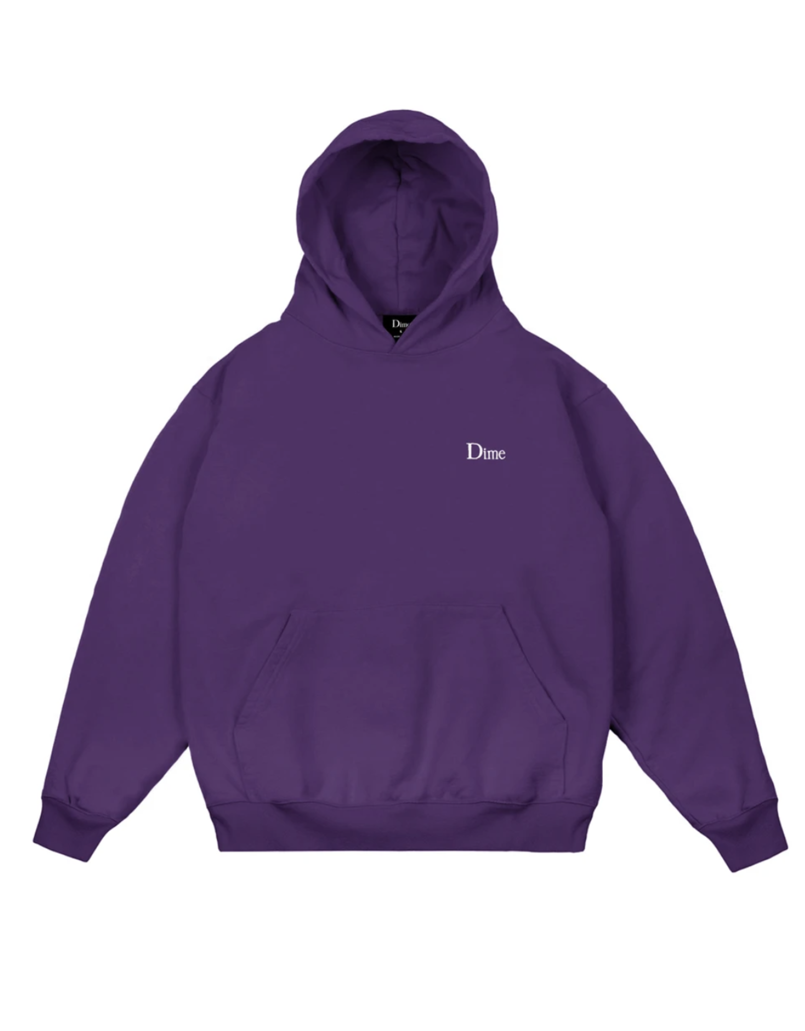 Dime Classic Small Logo Hoodie - Purple