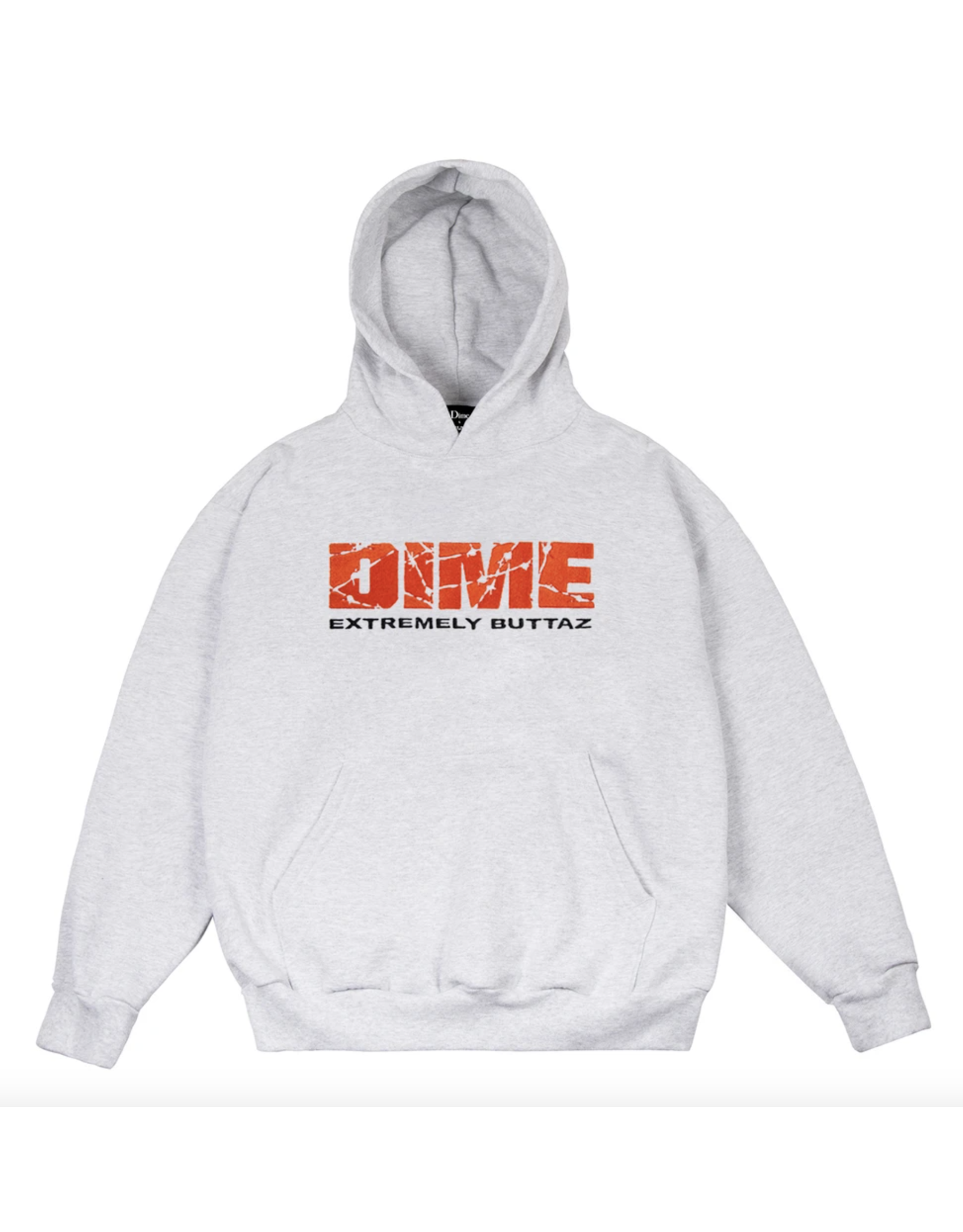 Dime Extremely Buttaz Hoodie - Ash Grey