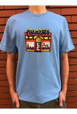Palm Isle Store Front Tee - Carolina Blue