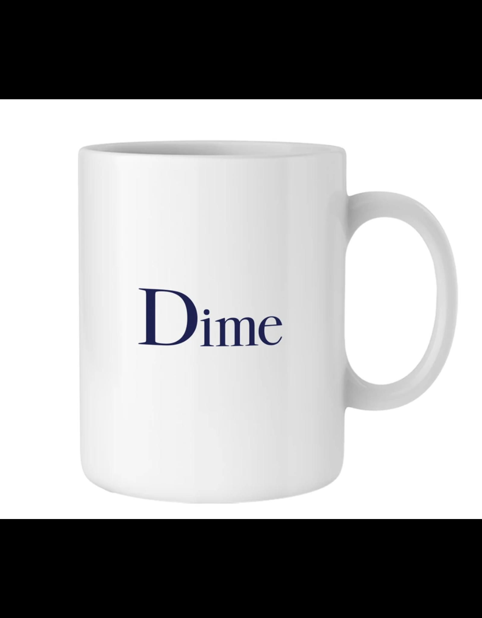Dime Classic Logo Mug - White