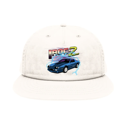 Skate Mental Iroc-Z Snapback - White