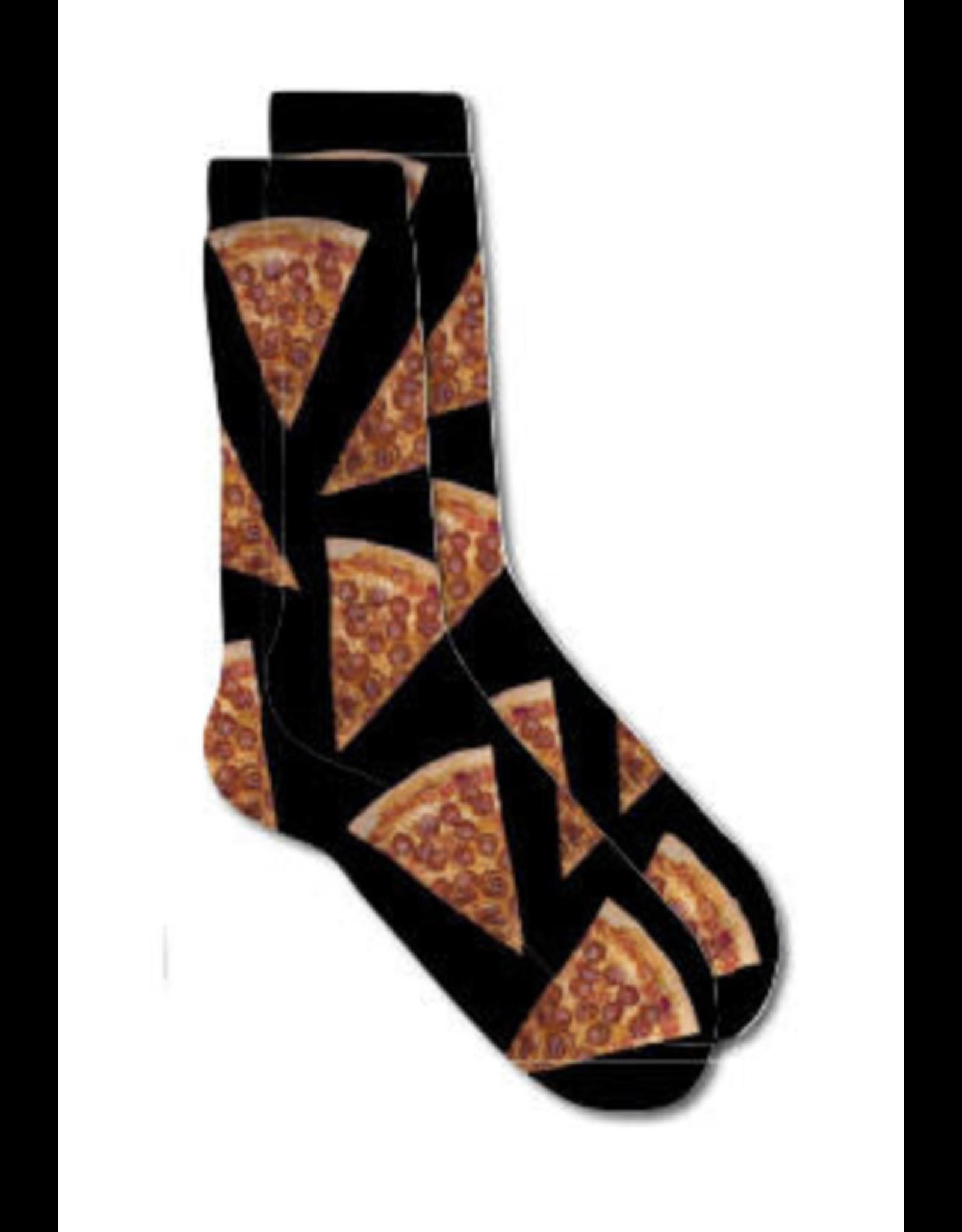 Skate Mental Pizza Slice Socks - OS