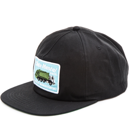 Skate Mental Waste Management Snapback - Black