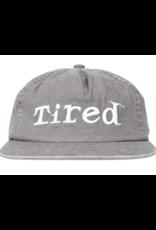 Tired Simple Logo Cap - Grey