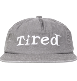 Tired Simple Logo Cap - Grey
