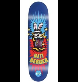 """Flip Berger Tin Toy Deck 8.25"""" - Blue"""