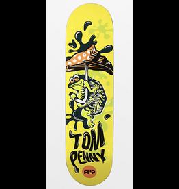 "Flip Penny Tin Toy 8.38"" - Yellow"