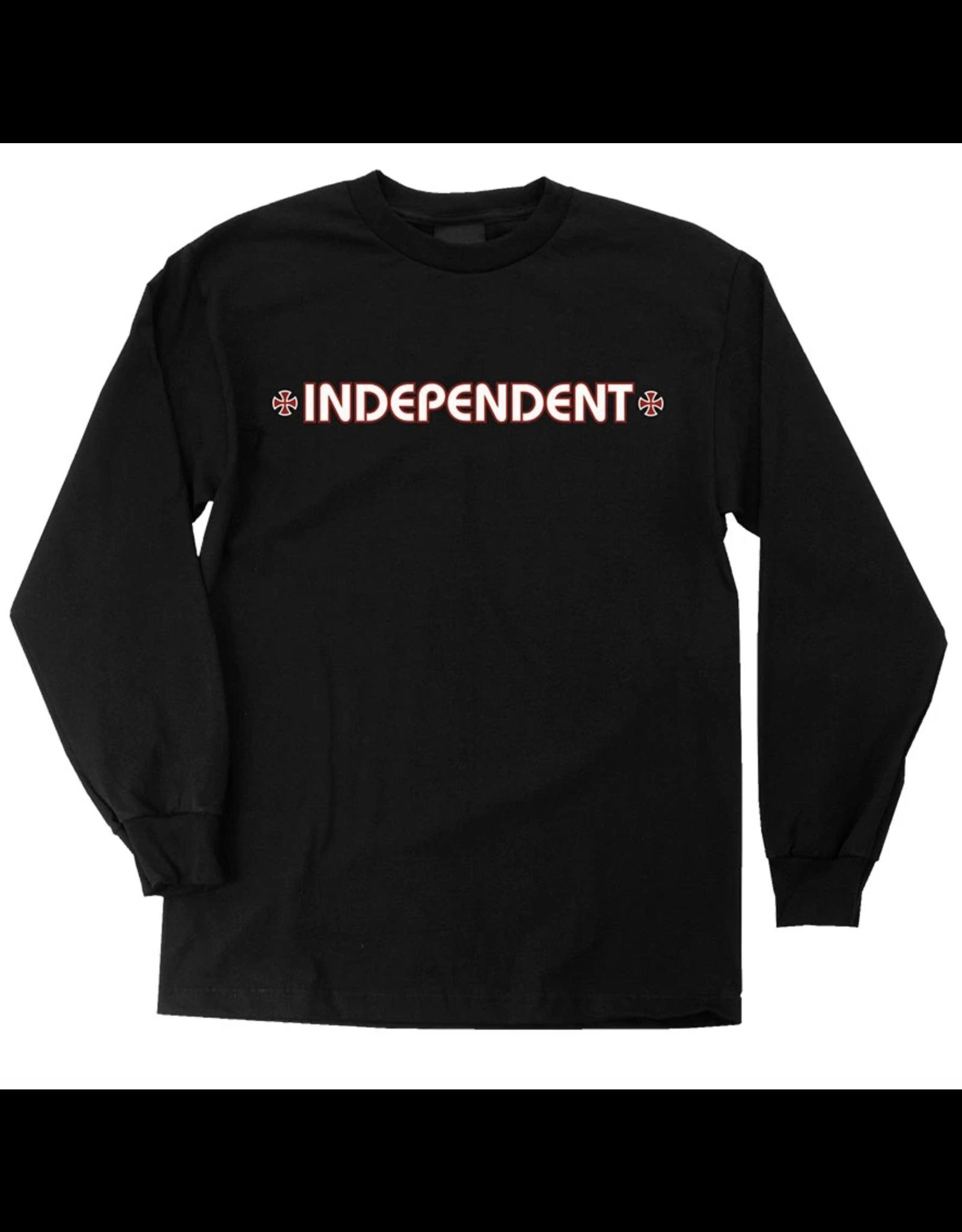 Independent Youth Bar/Cross Longsleeve - Black