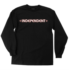 Independent Youth Bar/Cross Longsleeve - Black