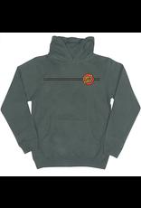 Santa Cruz Youth Classic Dot Hood - Green
