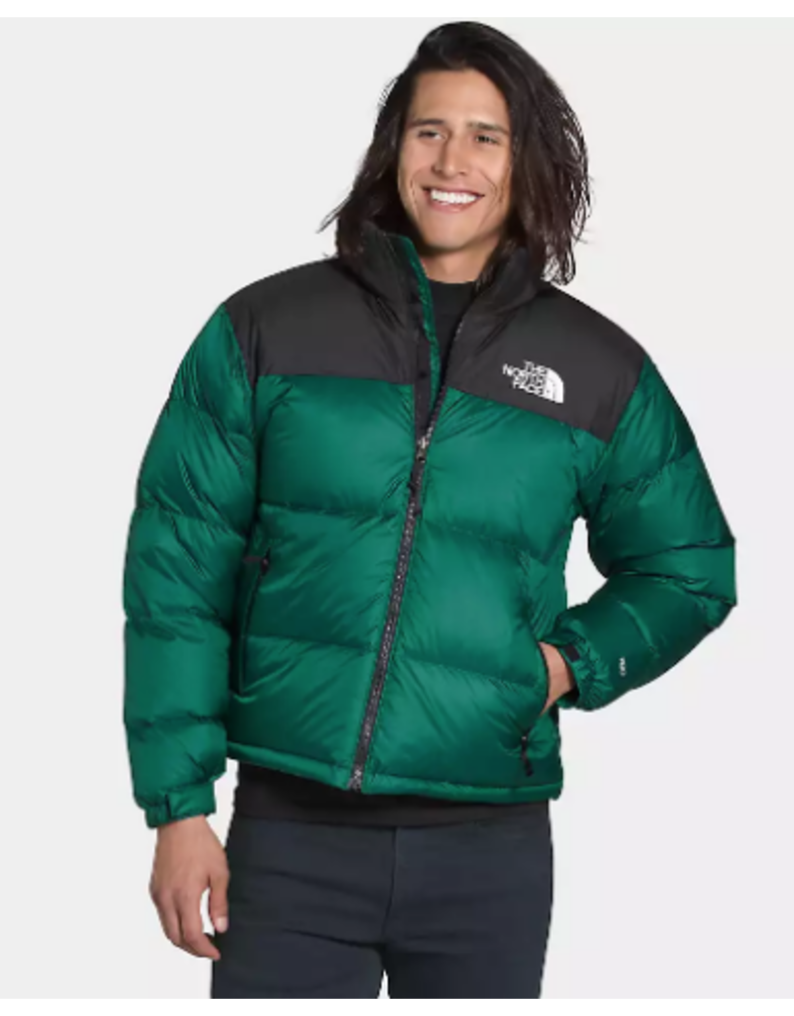 North Face 1996 Retro Nuptse Jacket - Evergreen