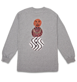 QuarterSnacks Snackman Longsleeve Tee - Heather