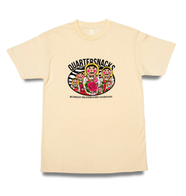 QuarterSnacks Russian Doll Tee - Cream