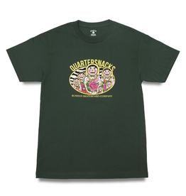 QuarterSnacks Russian Doll Tee - Forest Green