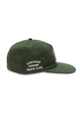 QuarterSnacks 6 Panel Party Cap - Forest Green
