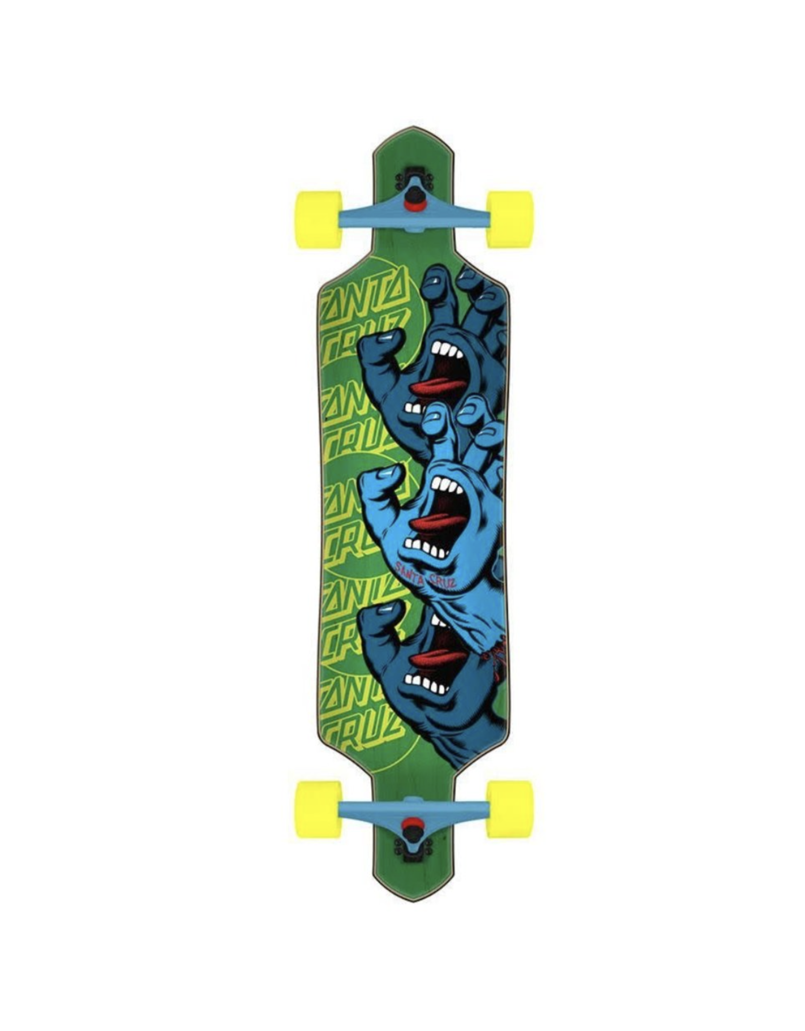 Santa Cruz Screaming Hand Stack Drop Thru 36""