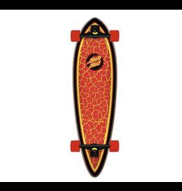"Santa Cruz Flame Dot Pintail Complete 33"""