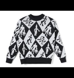 Polar Emile Knit Sweater - Black