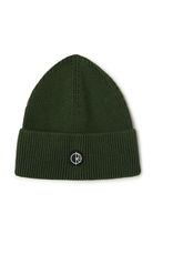 Polar Double Fold Merino Beanie - Hunter Green