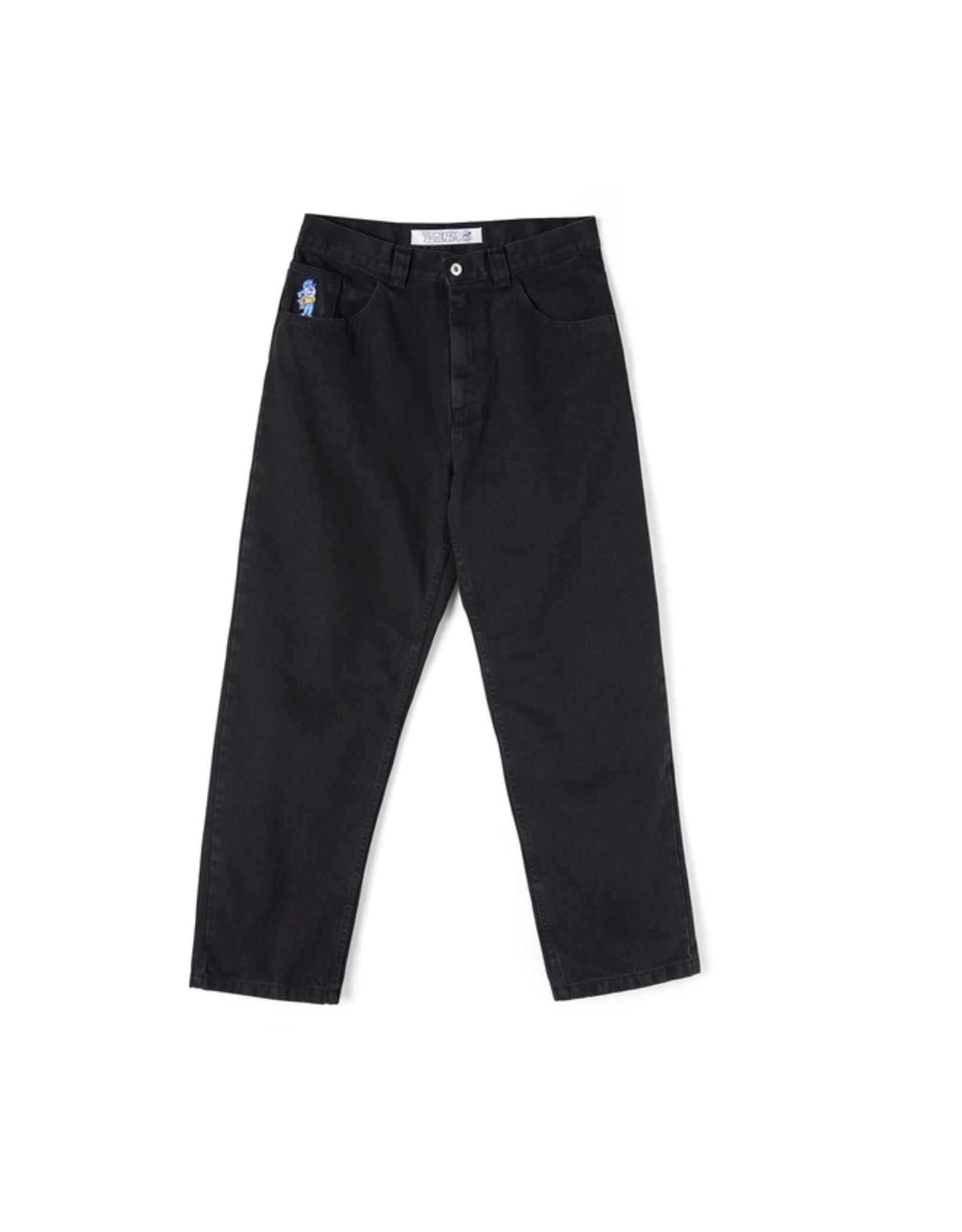 Polar 93' Denim - Pitch Black
