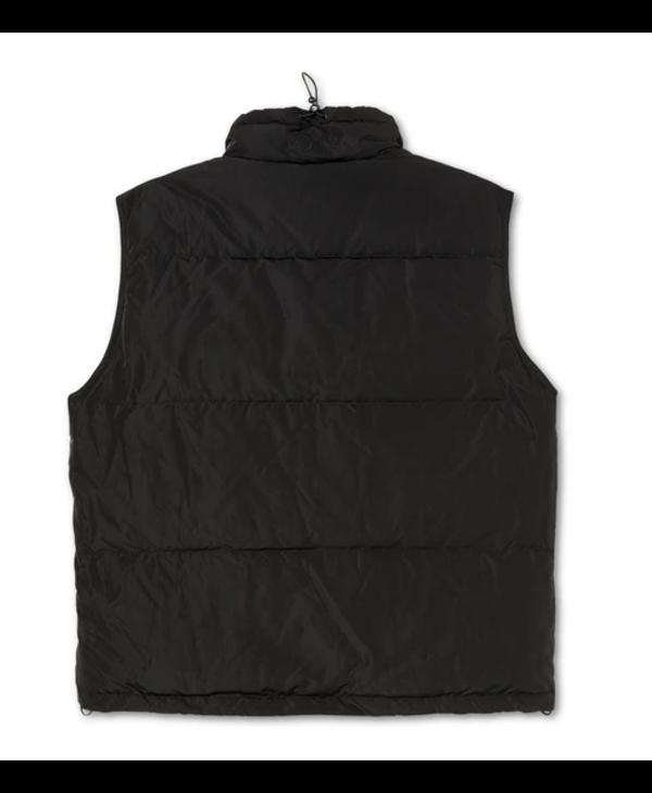 Puffer Vest Jacket - Black