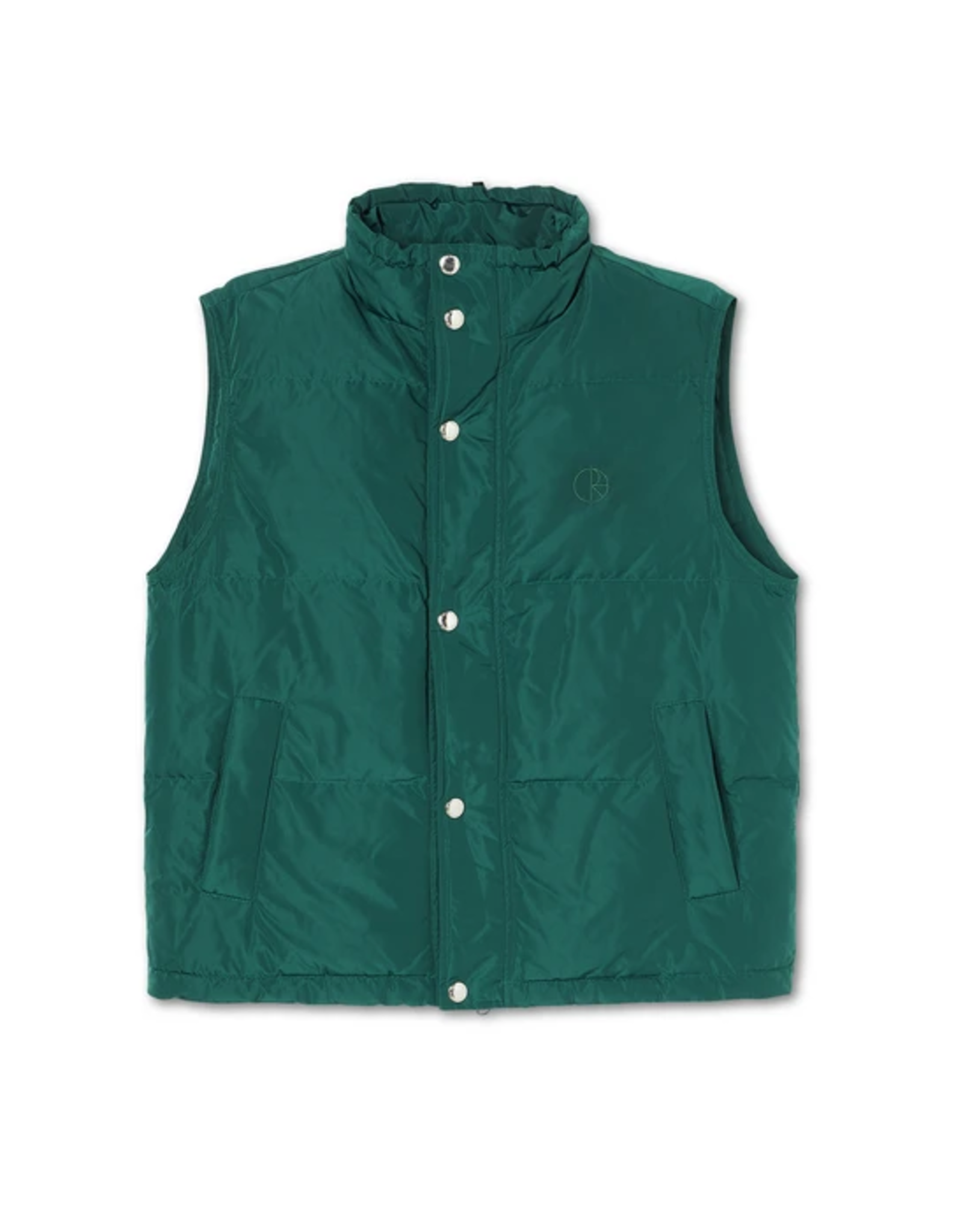 Polar Puffer Vest Jacket - Dark Green