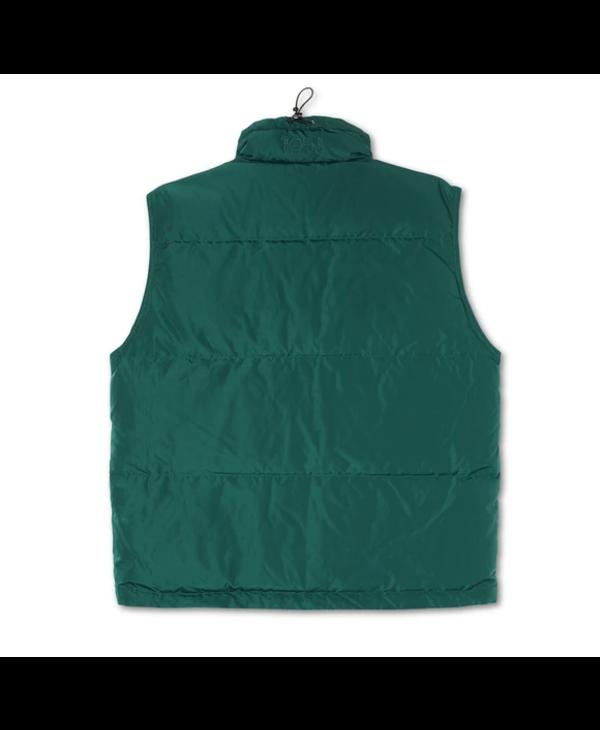 Puffer Vest Jacket - Dark Green
