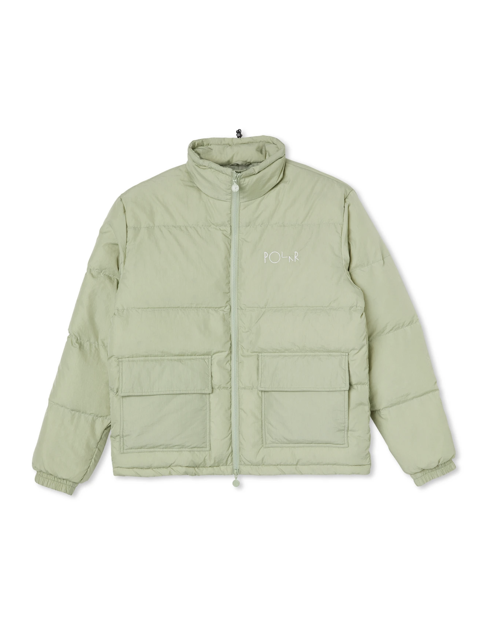 Polar Pocket Puffer Jacket - Smoke