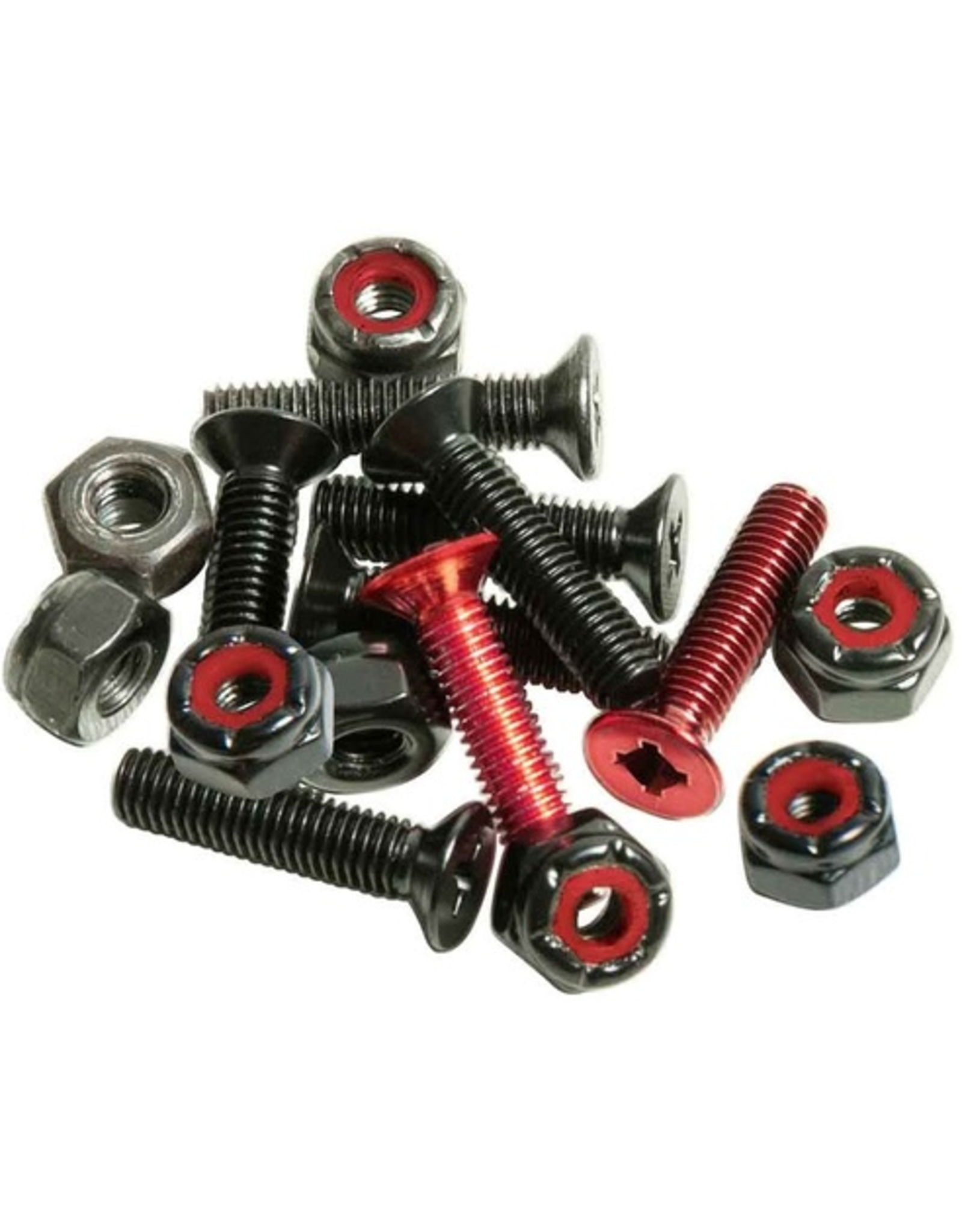 """Andale Combo Hardware 7/8"""" - Red/Black"""