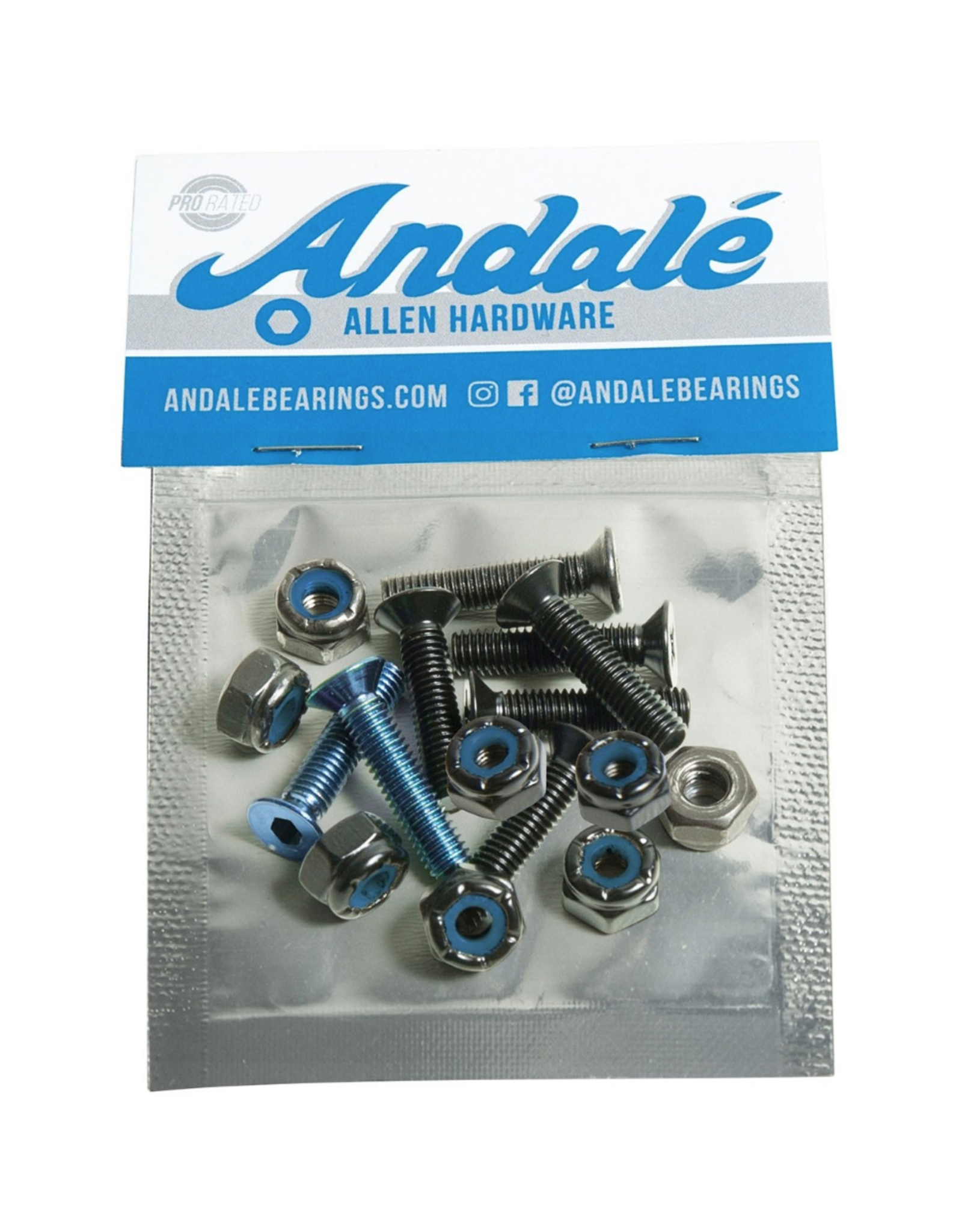 "Andale Allen Hardware 7/8"" - Blue"