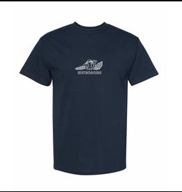 Metronome Durag Turtle T-Shirt - Navy