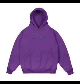 Dime Scribble Classic Logo Hoodie - Purple
