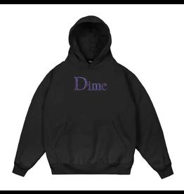 Dime Scribble Classic Logo Hoodie - Black