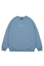 Dime Classic Logo Crewneck - Slate