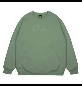 Dime Classic Logo Crewneck - Olive