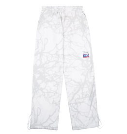 Dime Tree Print Fleece Pants - Snow
