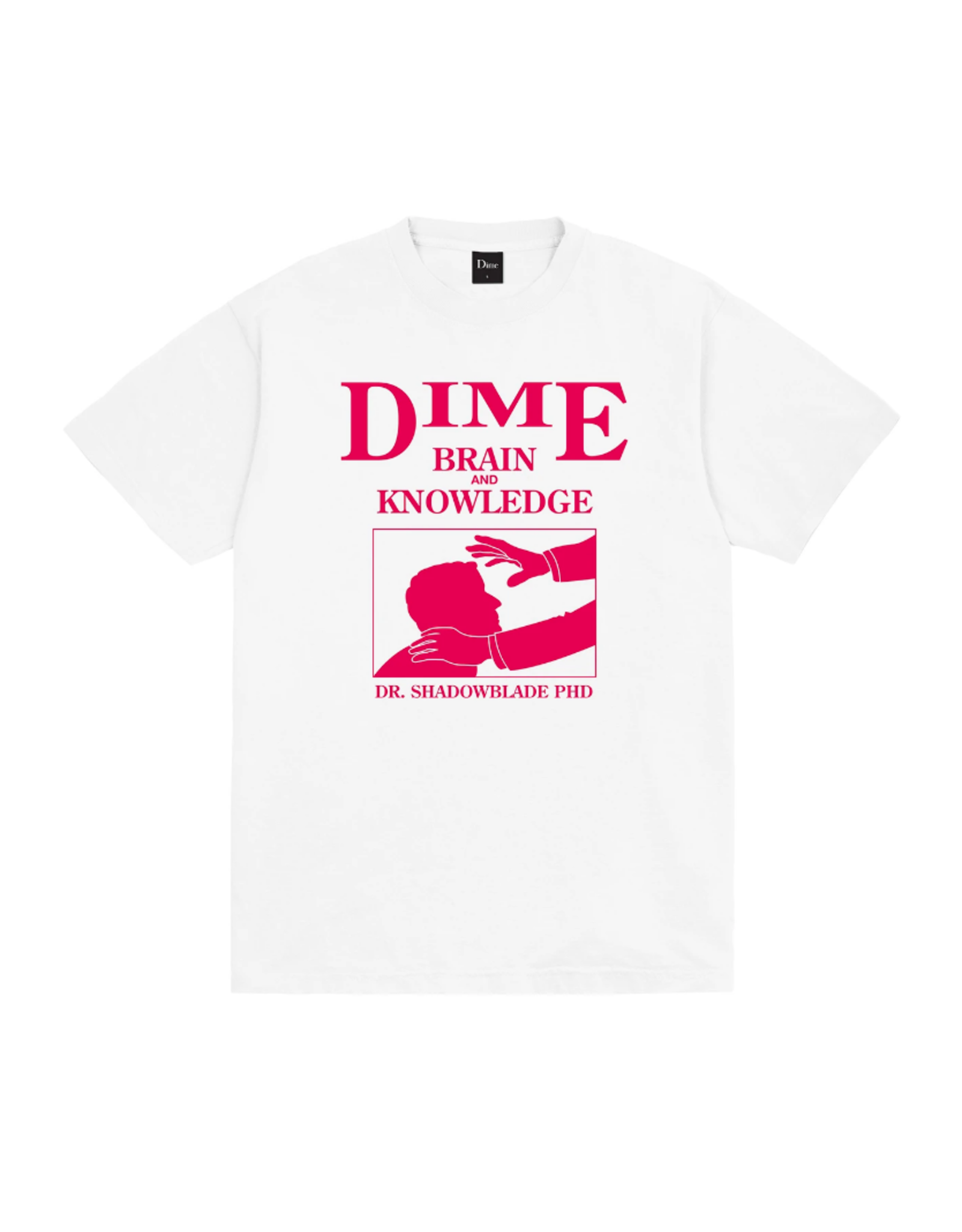 Dime Evan T-Shirt - White